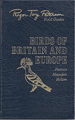BIRDS OF BRITAIN AND EUROPE: Peterson, Roger Tory