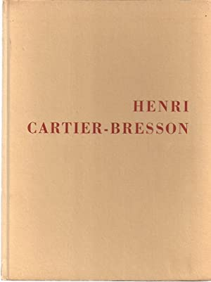 THE PHOTOGRAPHS OF HENRI CARTIER-BRESSON: Kirstein, Lincoln