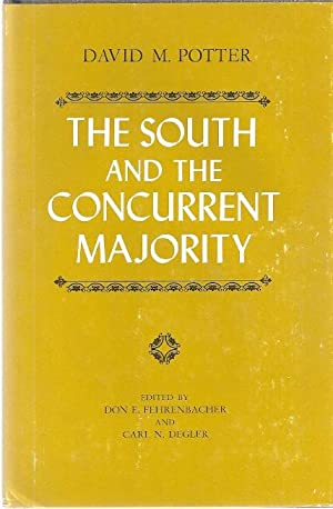 THE SOUTH AND THE CONCURRENT MAJORITY: Potter, David