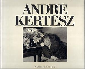 A LIFETIME OF PERCEPTION: Kertesz, Andre