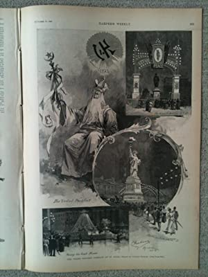 HARPER'S WEEKLY; A JOURNAL OF CIVILIZATION. Saturday, October 17, 1891