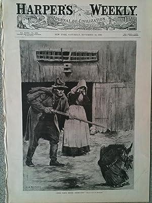 HARPER'S WEEKLY:A JOURNAL OF CIVILIZATION. Saturday, November 24, 1888