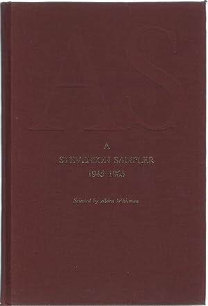AS: A STEVENSON SAMPLER 1945-1965: Whitman, Alden