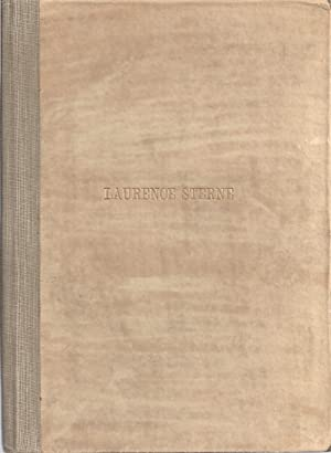 LAURENCE STERNE'S LETTER TO THE REV. MR. BLAKE: Bixby, William]