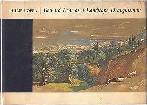 EDWARD LEAR AS A LANDSCAPE DRAUGHTSMAN: Hofer, Phililp