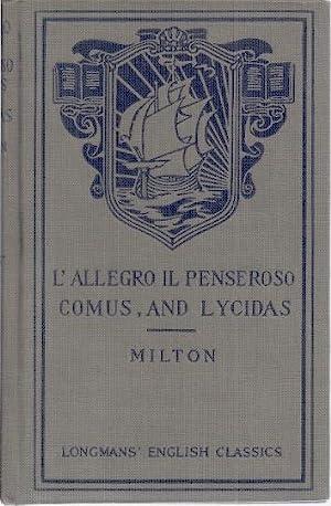 JOHN MILTON'S L'ALLEGRO, IL PENSEROSO, COMUS, AND: Trent, William