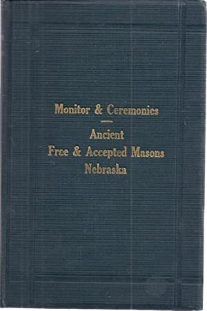 MONITOR AND CEREMONIES, ANCIENT, FREE, AND ACCEPTED: Thummel, George H.