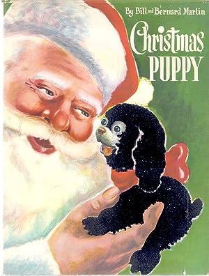 CHRISTMAS PUPPY: Martin, Bill and Bernard