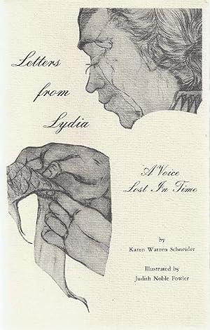 LETTERS FROM LYDIA; A VOICE LOST IN TIME: Schneider, KAren Warren