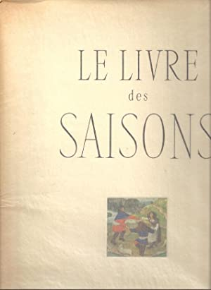 LE LIVRE DES SAISONS: Bazin, Germain