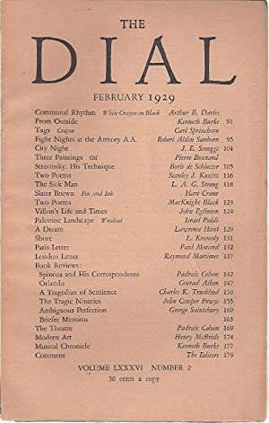 THE DIAL. Volume LXXXVI, Number 2. February 1929: Moore, Marianne