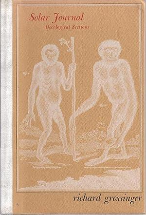 SOLAR JOURNAL (OECOLOGICAL SECTIONS): Grossinger, Richard