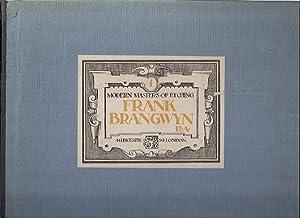 MODERN MASTERS OF ETCHING: FRANK BRANGWYN: Salaman, Malcolm C.