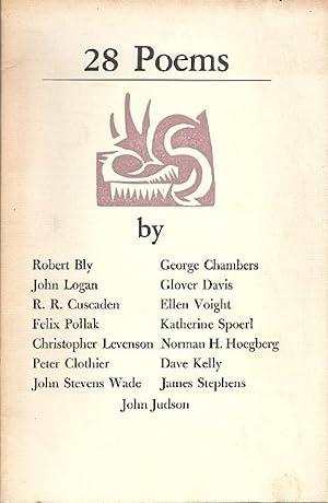 28 POEMS: Bly, Robert, et.al.