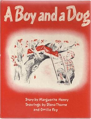 A BOY AND HIS DOG: Henry, Marguerite