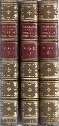 THE MEMOIRS OF THE DUKE OF SAINT-SIMON: St. John, Bayle