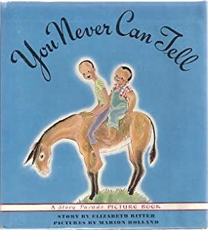 YOU NEVER CAN TELL: Ritter, Elizabeth