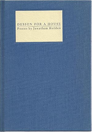 DESIGN FOR A HOUSE: Holden, Jonathan