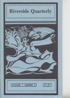 Riverside Quarterly Vol 7 no 2: RIVERSIDE QUARTERLY (ed.
