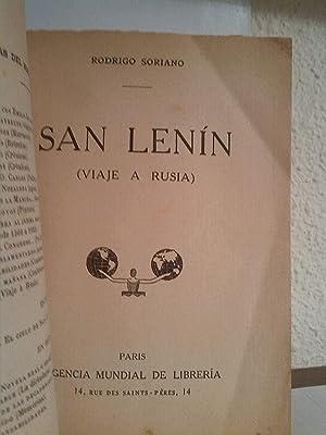 San Lenin: Rodrigo Soriano
