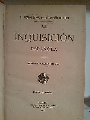 La Inquisición española: Ricardo Cappa