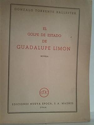 El golpe de estado de Guadalupe Rincón: Gonzalo Torrente Ballester