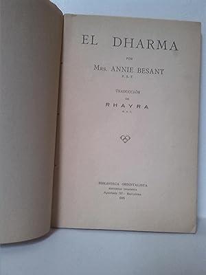 El Dharma: Annie Besant