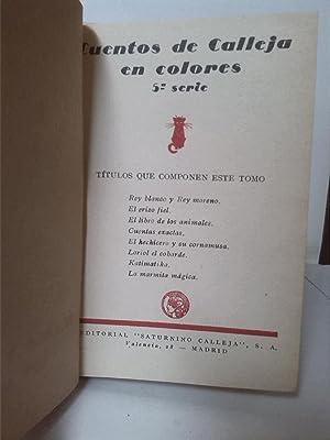 Cuentos de calleja en colores. 5ª serie