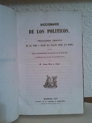 Diccionario de los politicos: Juan Rico y Amat