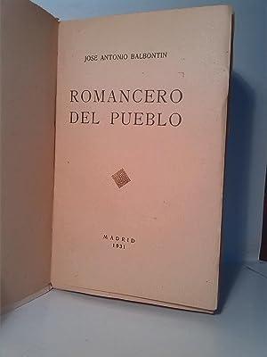 Romancero del pueblo: José Antonio Balbotín