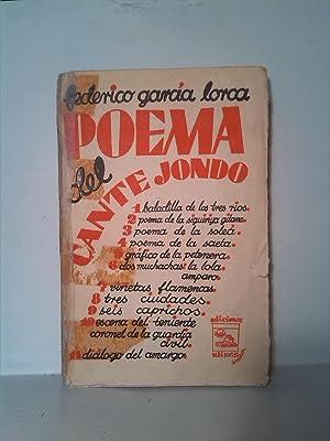Poema del Cante Jondo: Federico García Lorca