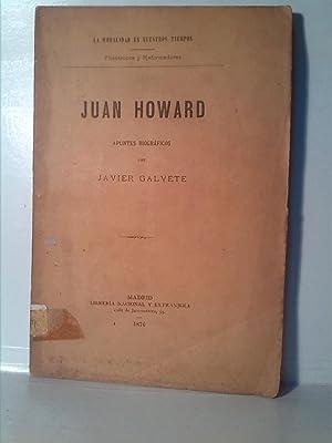 Juan Howard: Javier Galvete