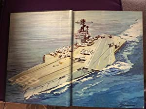 United States Ship (USS) America CVA-66 Overhaul 1969 Around the World Cruise 1970 With Carrier A...
