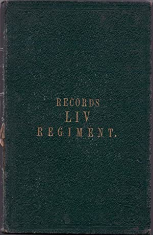 Records of the 54th West Norfolk Regiment (LIV)