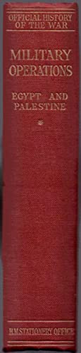 Military Operations Egypt & Palestine From The: Falls, Captain Cyril