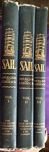 SAIL 3 Volume Set The Romance of the Clipper Ships