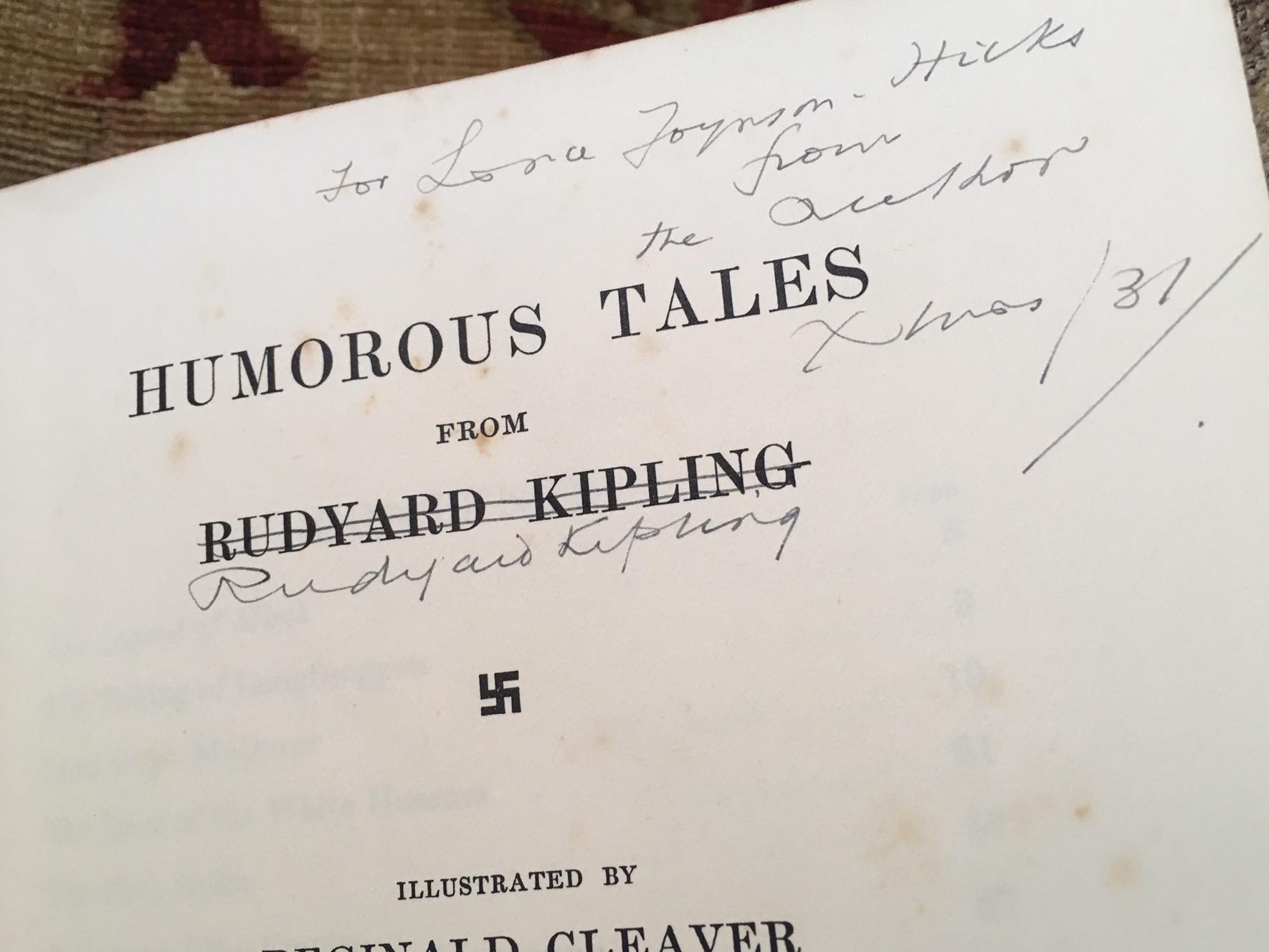 Humorous Tales From Rudyard Kipling. KIPLING Rudyard. [ ] (bi_30415846178) photo