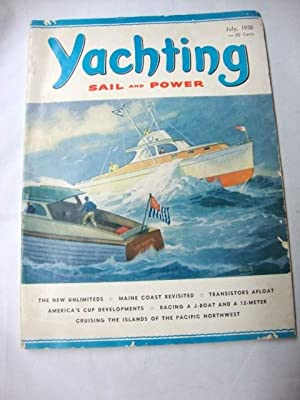 Yachting Magazine July 1958 power boats