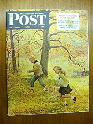 Saturday Evening Post October 7, 1950 Fall foilage