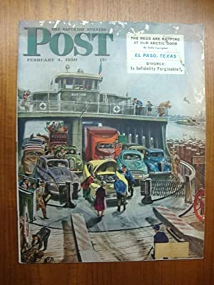 Saturday Evening Post February 4, 1950 Ferry
