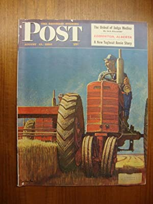 Saturday Evening Post August 12, 1950 tractor