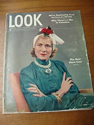Look Magazine April 15, 1947 Clare Luce