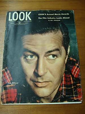 Look Magazine February 19, 1946 Ray Milland