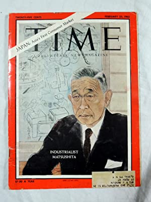Time Magazine February 23 1962 Japan: Asia's First Consumer Market Industrialist Matsushita