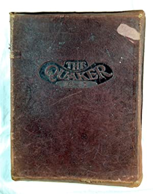 The Quaker 1916-1917 Guilford College Quaker Yearbook North Carolina: College, Guilford