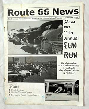 Route 66 News Summer 1998 Fun Run 11th Annual