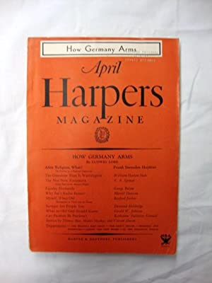 Harper's Magazine - April 1934 how Germany arms