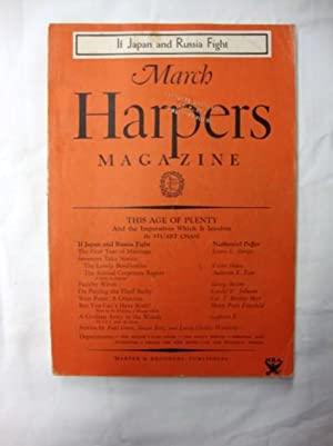 Harper's Magazine - March 1934 if Japan and Russia fight