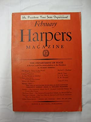 Harper's Magazine - February 1937