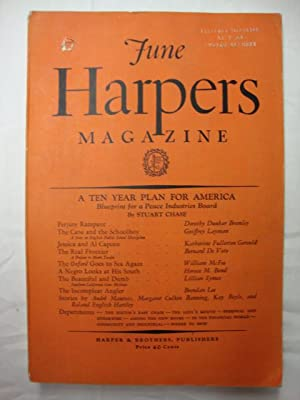 Harper's Magazine - June 1931 10 year plan for America